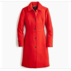NWT J.Crew Double Cloth Women's Coat